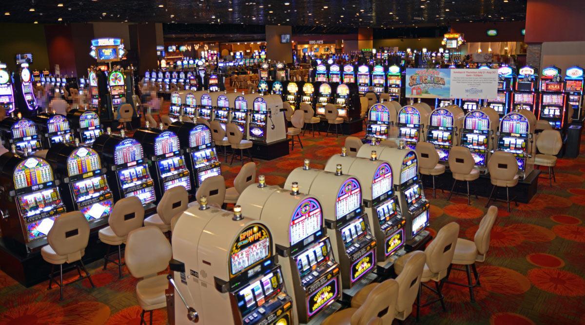 Casino floor at Mountaineer