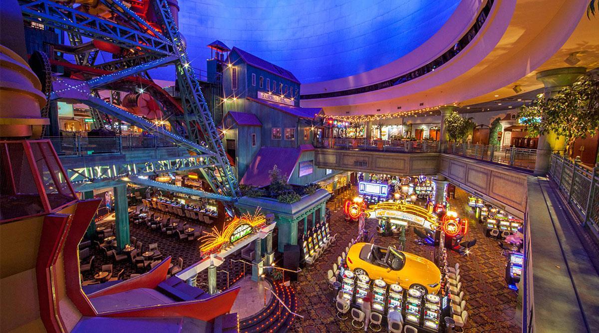 View overlooking the casino floor.