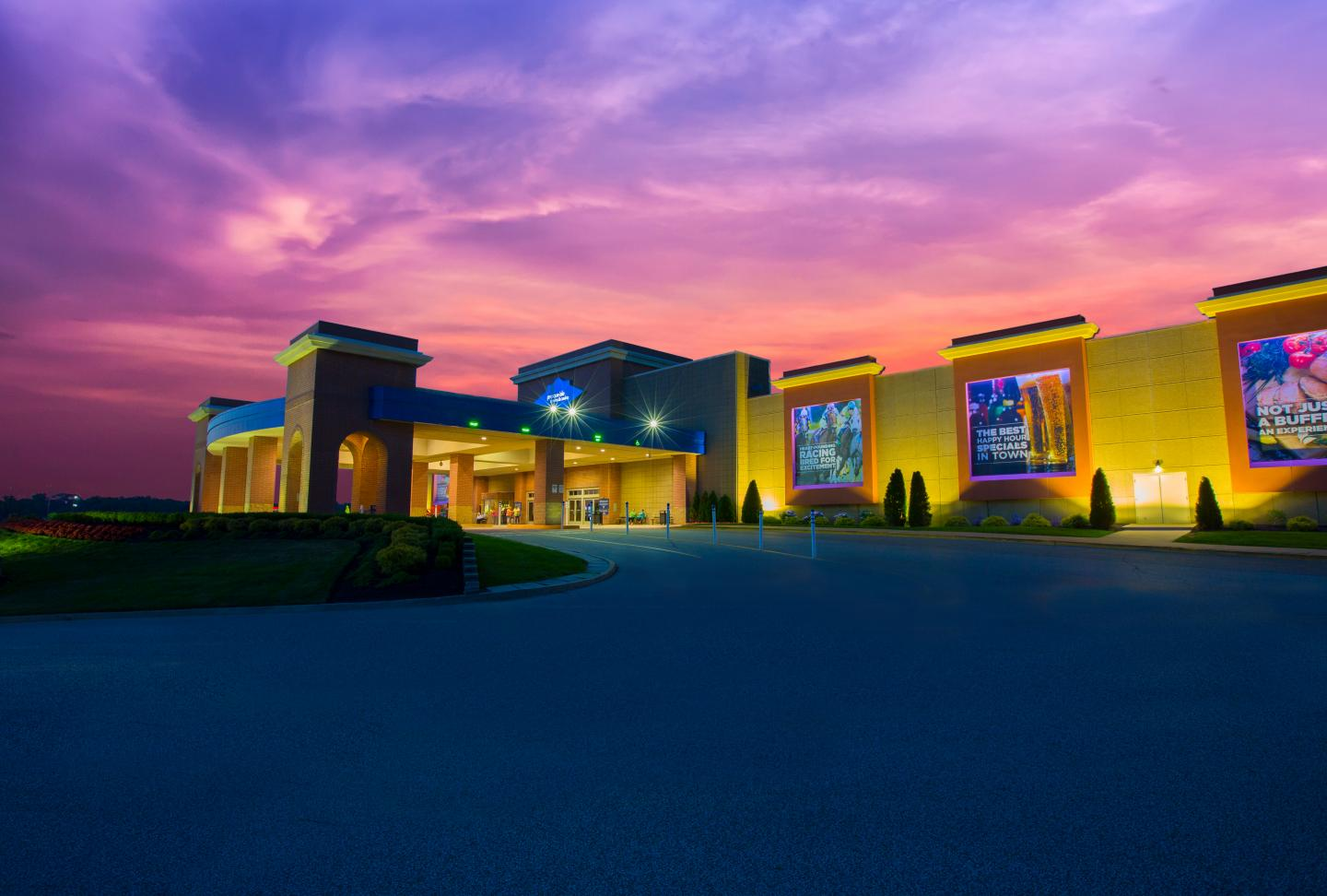 Exterior view of Presque Isle Downs & Casino