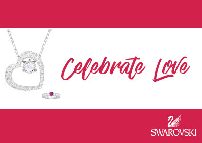 Swarovski Celebrate Love logo