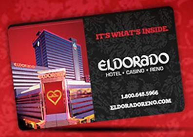 A gift card from the Eldorado
