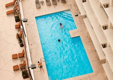 Aerial view of the Eldorado Pool.