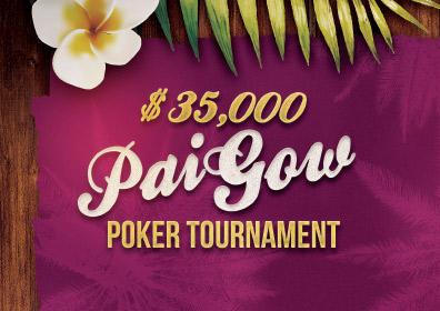 $35,000 Pai Gow Poker Tournament Logo
