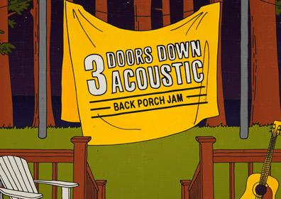 3 Doors Down Acoustic logo