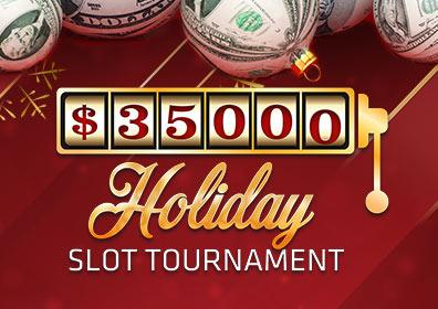 $35,000 Holiday Slot Tournament Logo