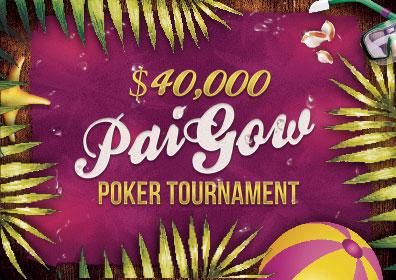 $40,000 Pai Gow Poker Tournament Logo