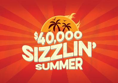 Sizzlin' Summer Slot Tournament logo