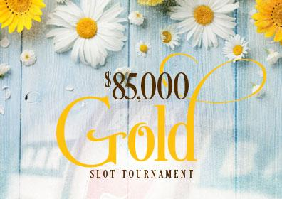 $85,000 Gold Slot Tournament logo