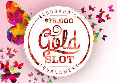$75,000 Gold Slot Tournament