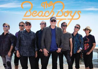 The Beach Boys posing