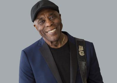 Buddy Guy smiling