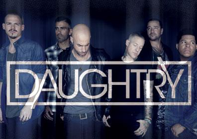 Daughtry Band posing