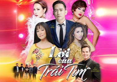 Performers of Loi Cua Trai Tim Concert