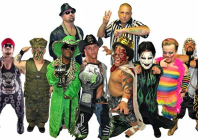 Wrestlers of Micro Championship Wrestling