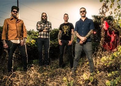 Members of the band Mastodon