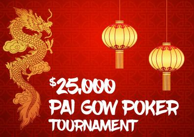 $25,000 Pai Gow Poker Tournament Logo