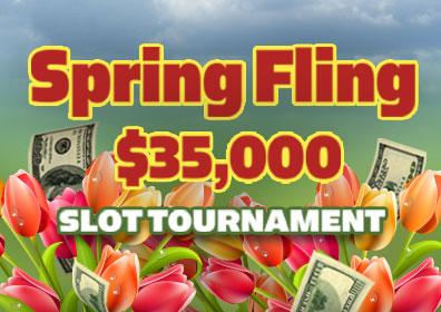 Spring Fling $35,000 Slot Tournament Logo
