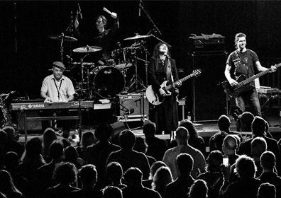Martha Davis & The Motels performing at a concert