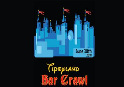 Tipsyland Bar Crawl Logo