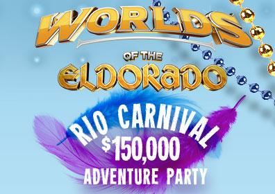 Worlds of the Eldorado Rio Carnival Logo