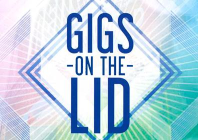 Gigs on the Lid Logo
