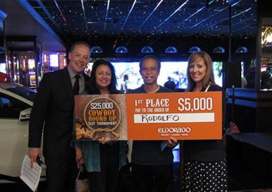 Rodolfo $5,000 Winner