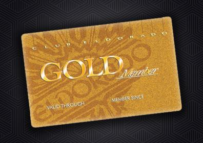 Club Eldorado Gold Member Card