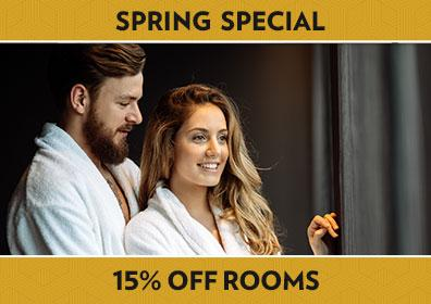 Spring Special - Up to 15% OFF Rooms
