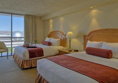 Beautifully appointed Eldorado Reno hotel room
