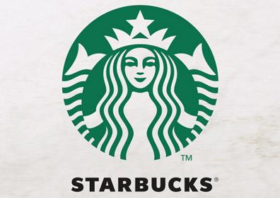 Coffee with Starbucks logo
