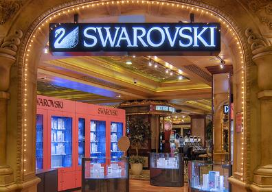 Swarovski Jewerly Store Displays