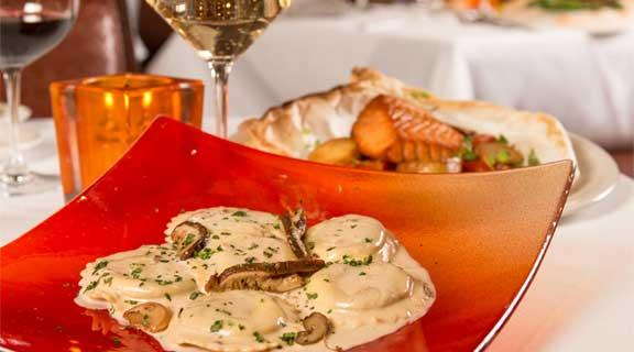 La Strada's Famous Mushroom Lavioli