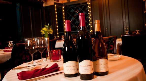 Ferrari Carano Wine at Roxy's