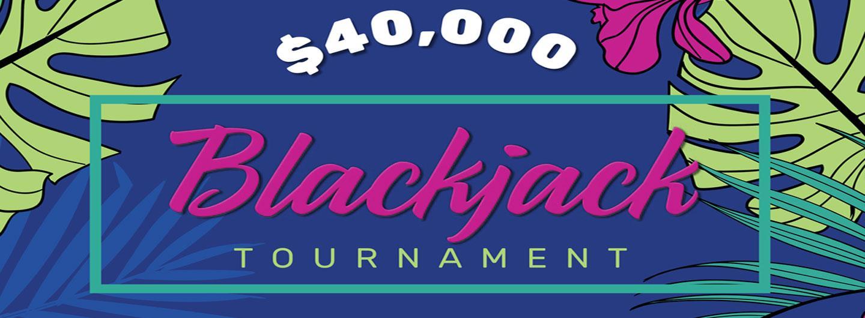 Eldorado's $40,000 Blackjack Tournament Logo