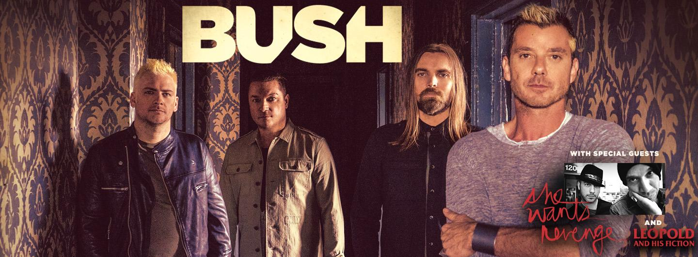 Members of BUSH with special guests