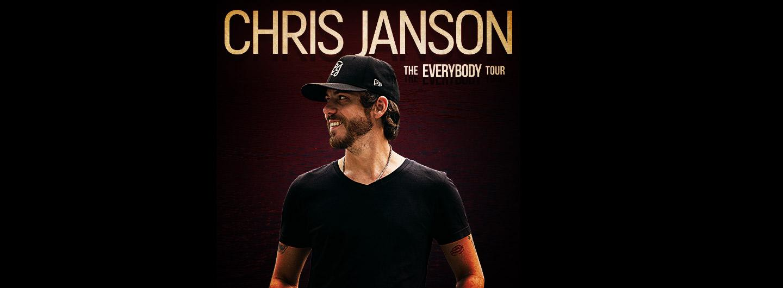 Chris Janson posing