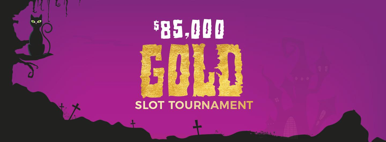 $85,000 Gold Slot Tournament logo
