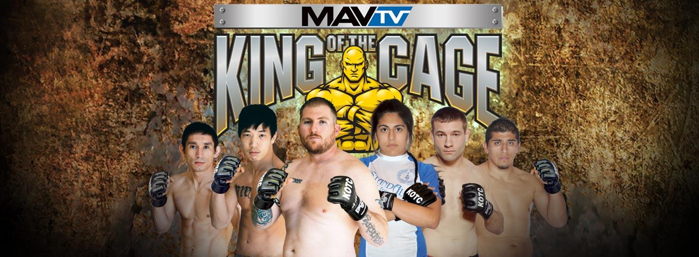 King of the Cage Logo and Fighters