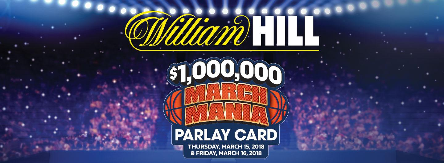 March Mania Parlay Card logo