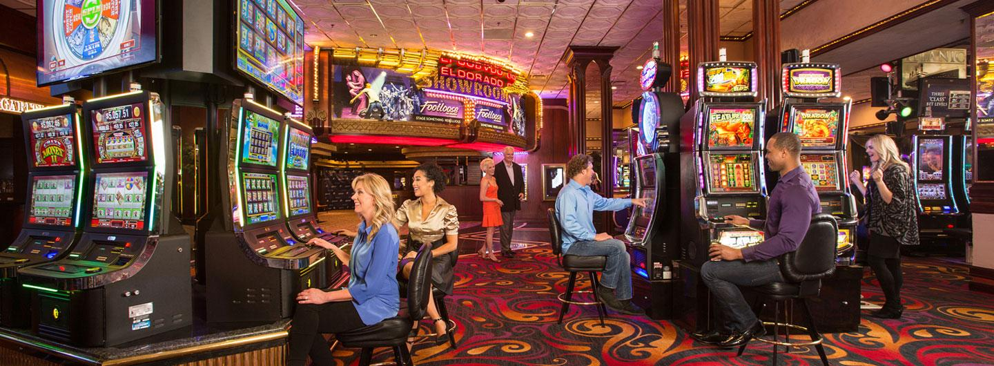 Slot Machines Reno Luxury Casino Eldorado Reno