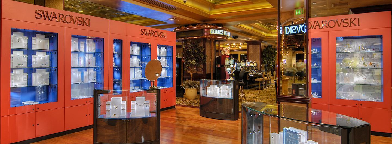 Swarovski Jewerly Store Displays