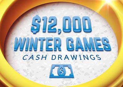 12k Winter Games Cash Drawings