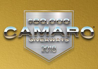 $80k Camaro Giveaway