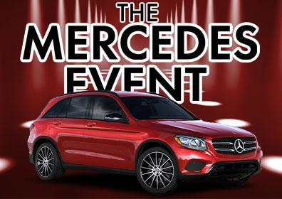 Red Mercedes SUV