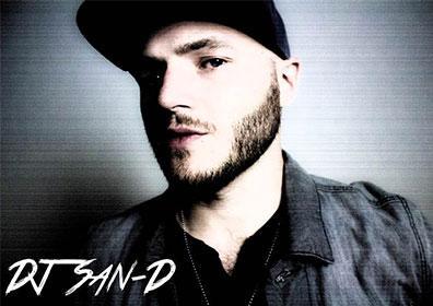 Head shot of DJ wearing ball cap