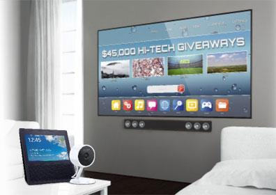 Hi-Tech electronics giveaway