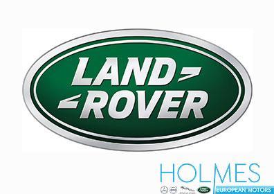 Land Rover logo with dealership emblem for Holmes Honda