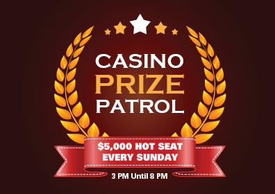 Casino Prize Patrol Hot Seat Giveaways