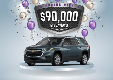 "$90,000 ""Spring Ride"" Giveaway"