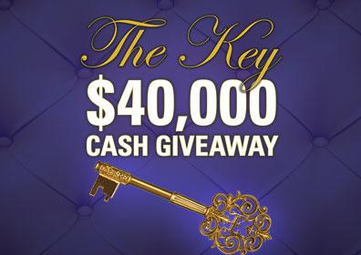 The Key $40,000 Cash Giveaway